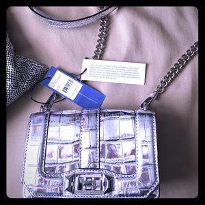 Rebecca Minkoff Silver Bag